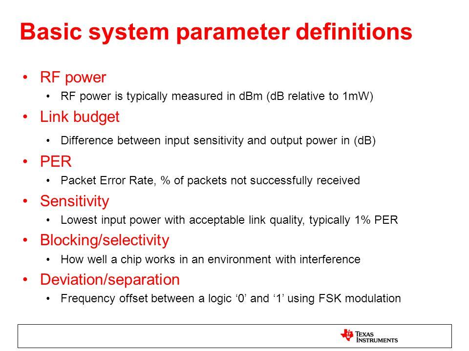 4 level FM modulator 250kbps 4FSK modulation –99% OCBW = 321kHz –90% OCBW = 215kHz –Average TX current = 100% –ACI = ~55dBc (1MHz off)