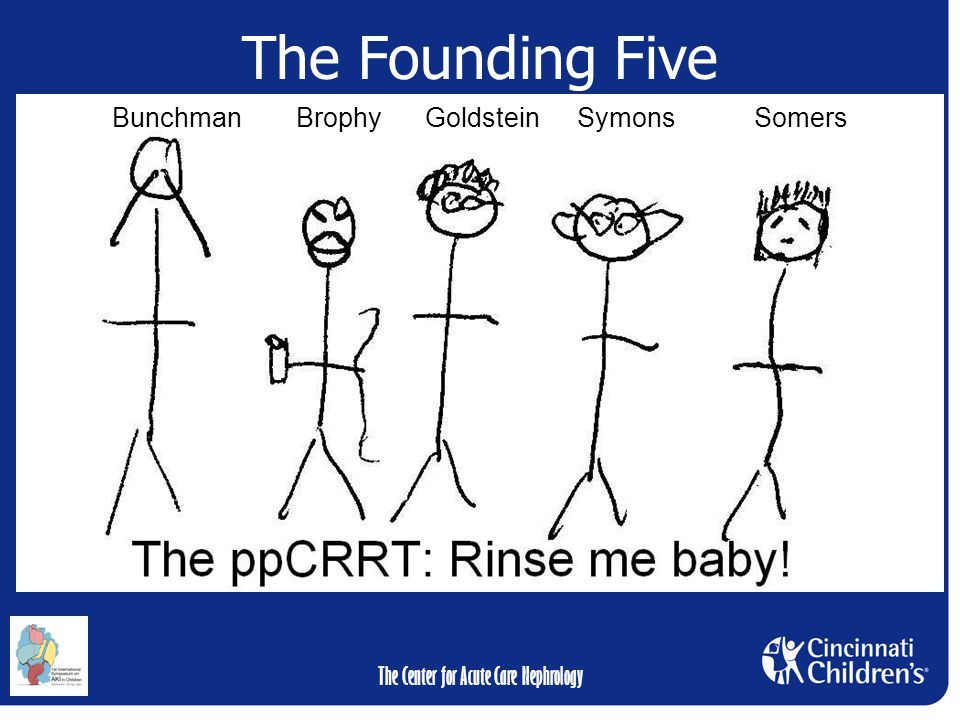 The Center for Acute Care Nephrology Bunchman Brophy Goldstein SymonsSomers The Founding Five