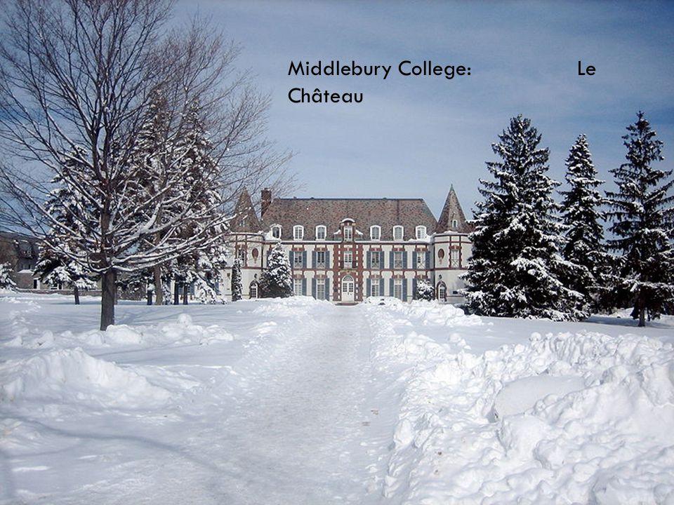 Middlebury College: Le Château