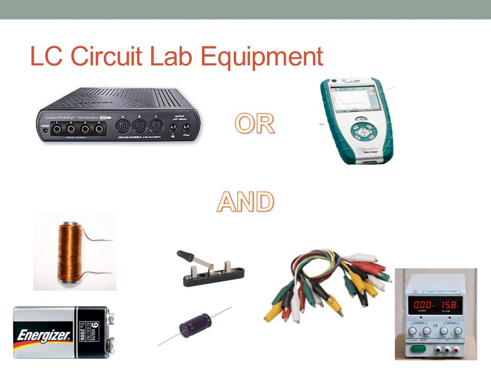 LC Circuit Lab Equipment