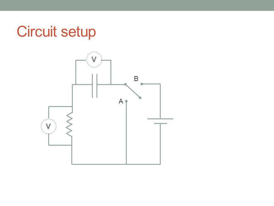 Circuit setup A B