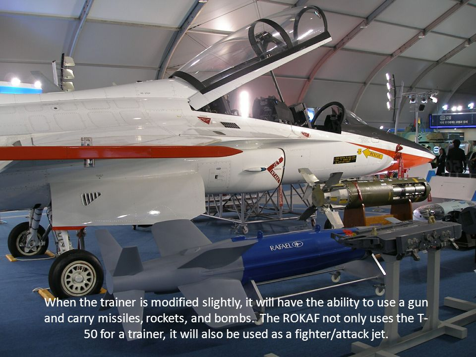 A shot of the T-50 with some of the armament, infrared pods, and other things that are part of the total package.