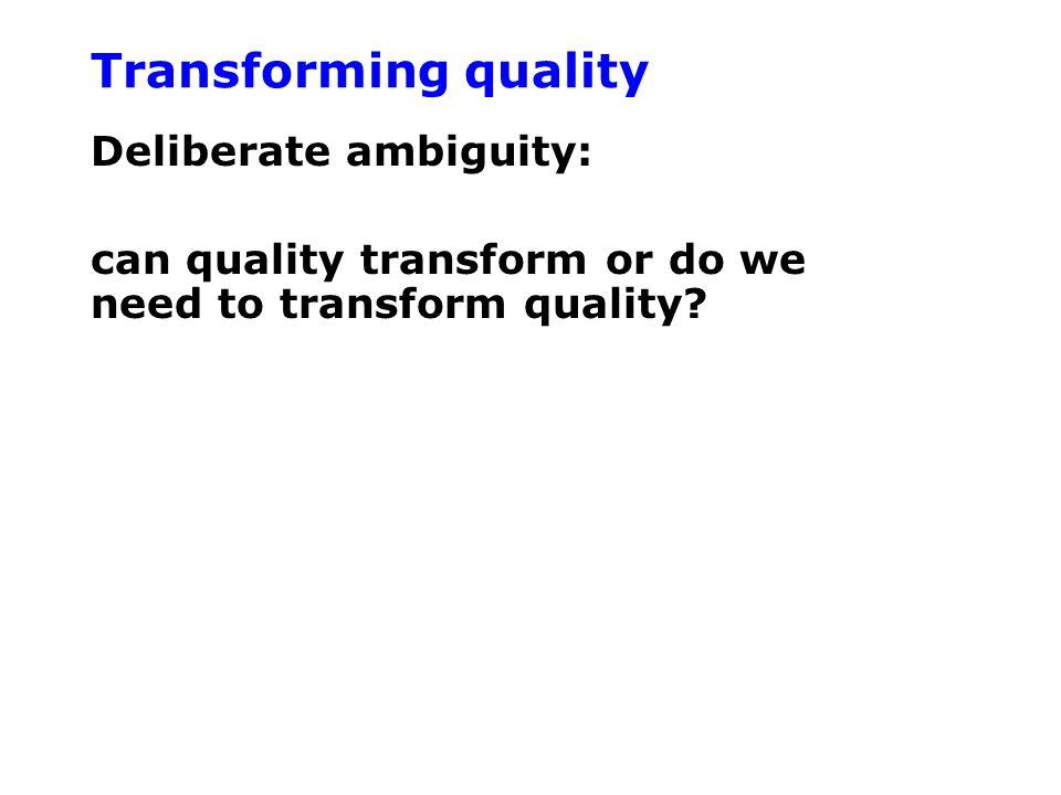 Bureaucracy Any form of EQM would involve some level of 'bureaucracy'.