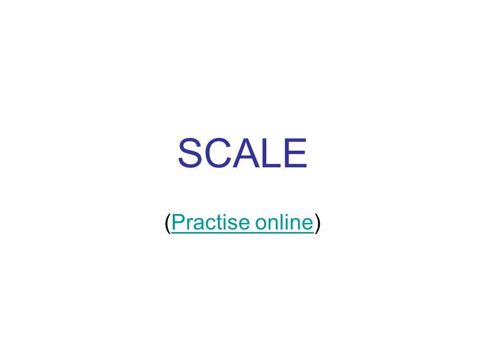 SCALE (Practise online)Practise online