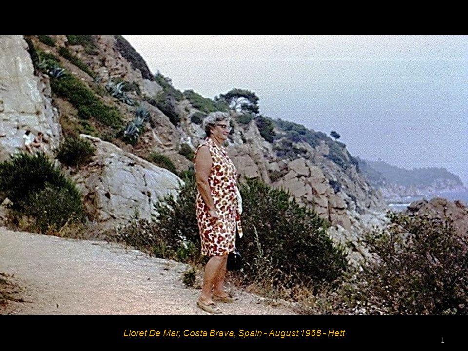 Lloret De Mar, Costa Brava, Spain - August 1968 - Hett 1