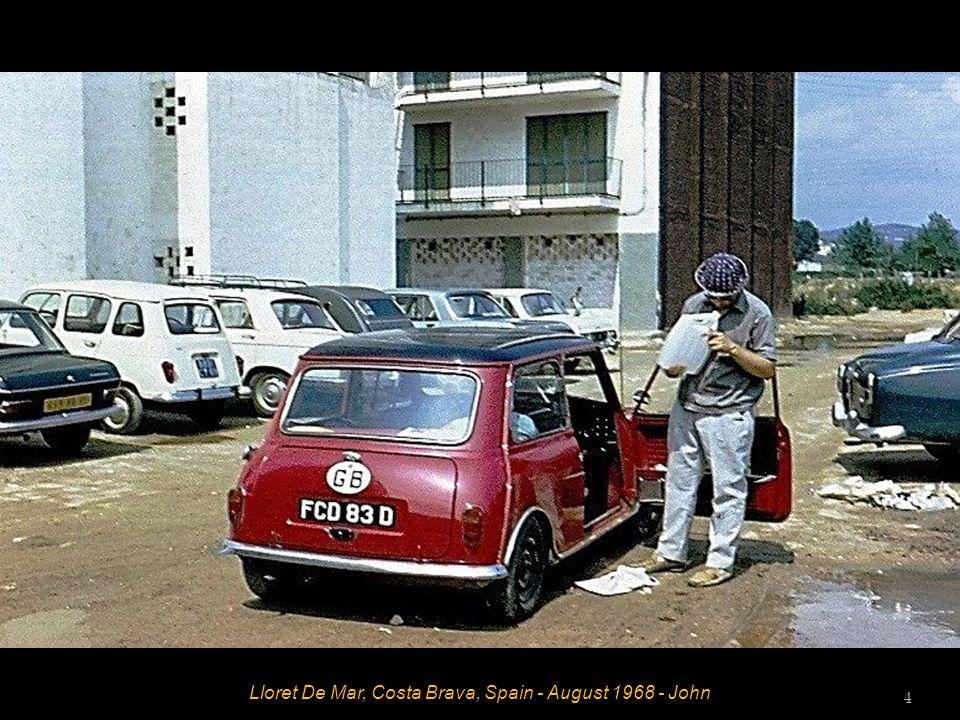 Lloret De Mar, Costa Brava, Spain - August 1968 - John 4