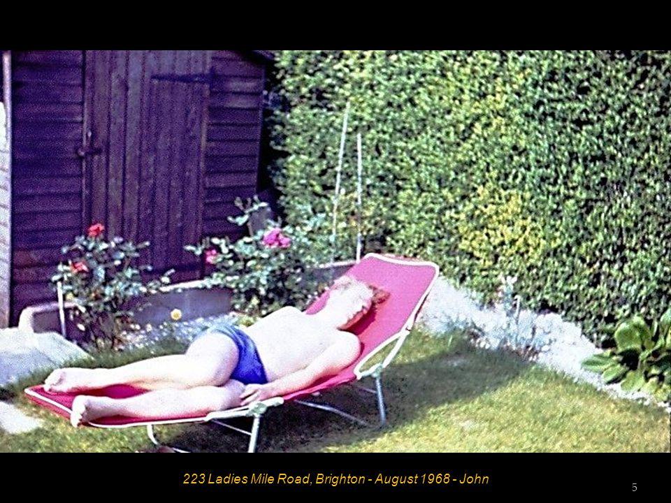 223 Ladies Mile Road, Brighton - August 1968 - John 5