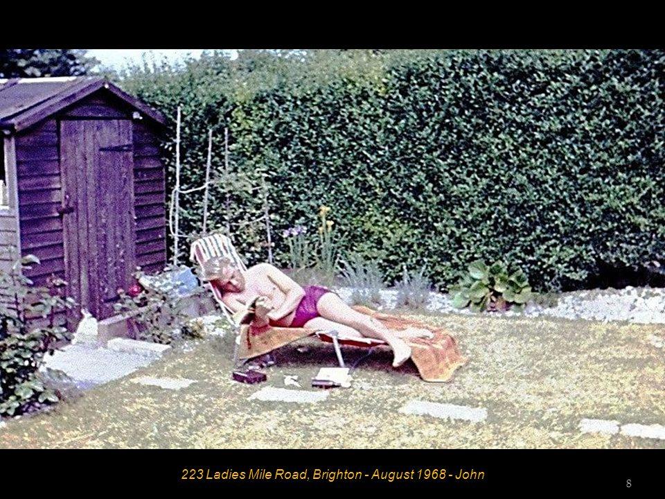 223 Ladies Mile Road, Brighton - August 1968 - John 8