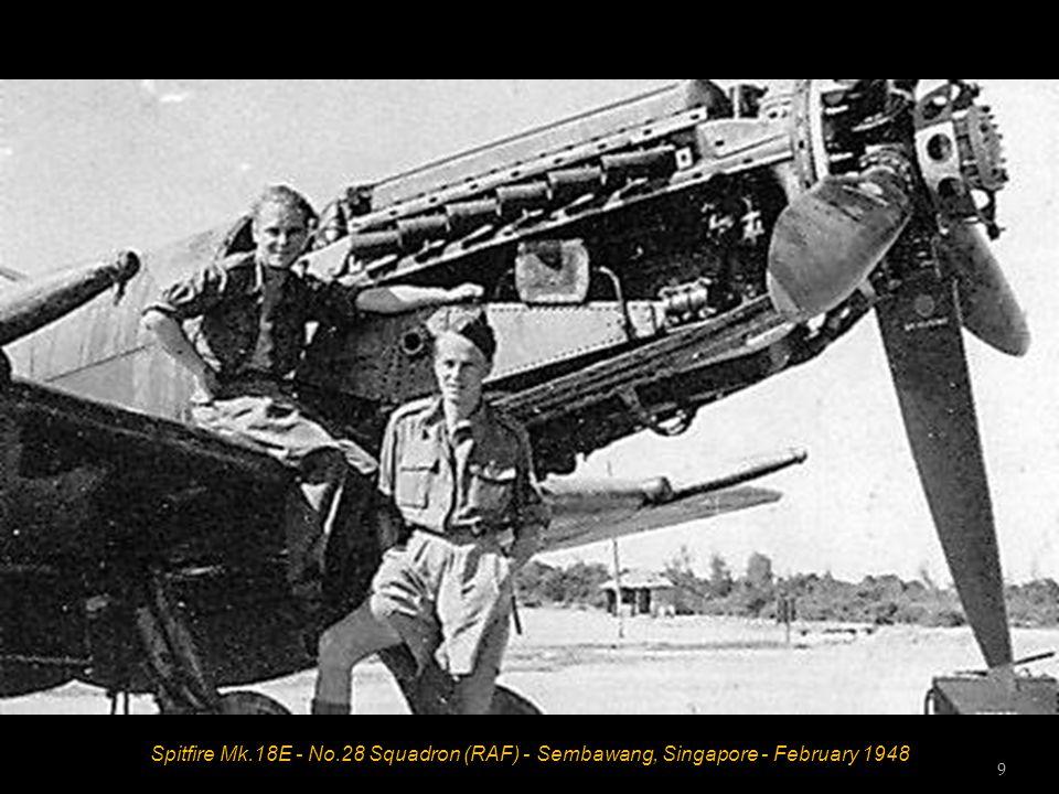 Spitfire Mk.18E - No.32 Squadron (RAF) - Cyprus - 1949 8