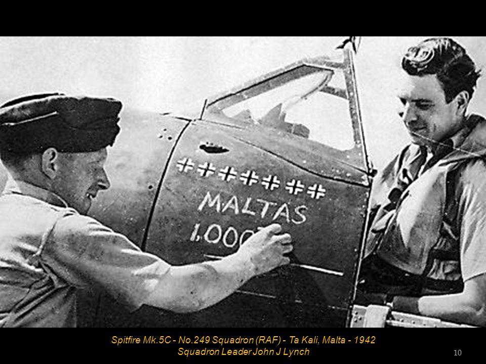 Spitfire Mk.18E - No.28 Squadron (RAF) - Sembawang, Singapore - February 1948 9