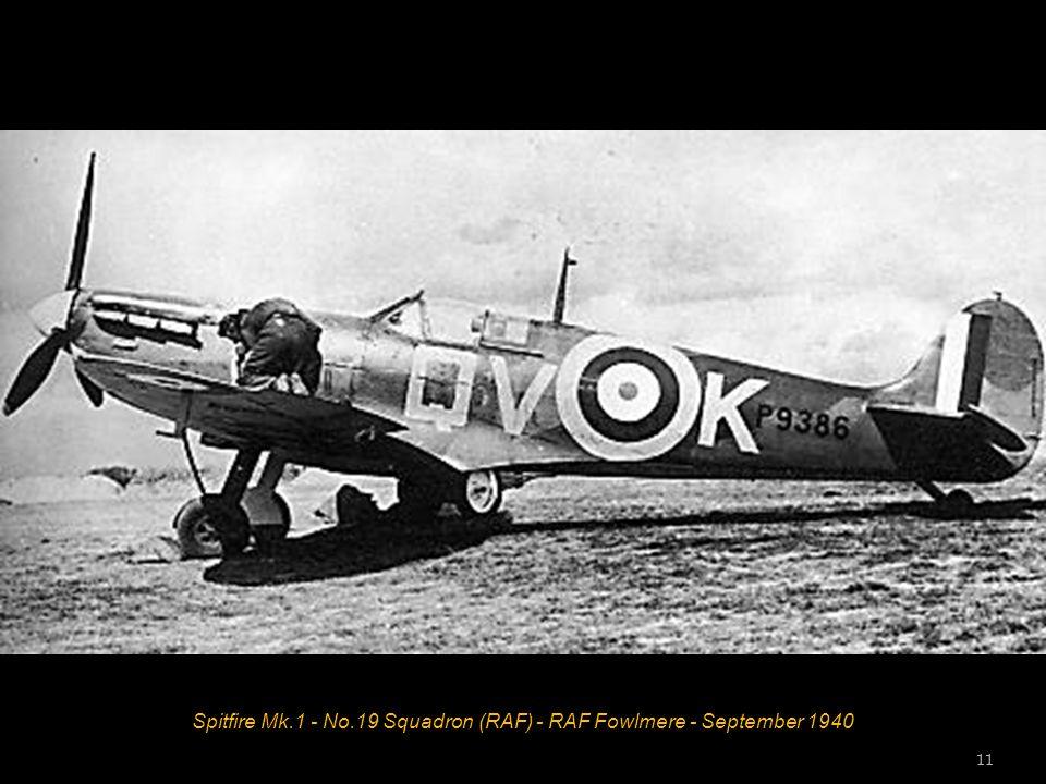 Spitfire Mk.5C - No.249 Squadron (RAF) - Ta Kali, Malta - 1942 Squadron Leader John J Lynch 10