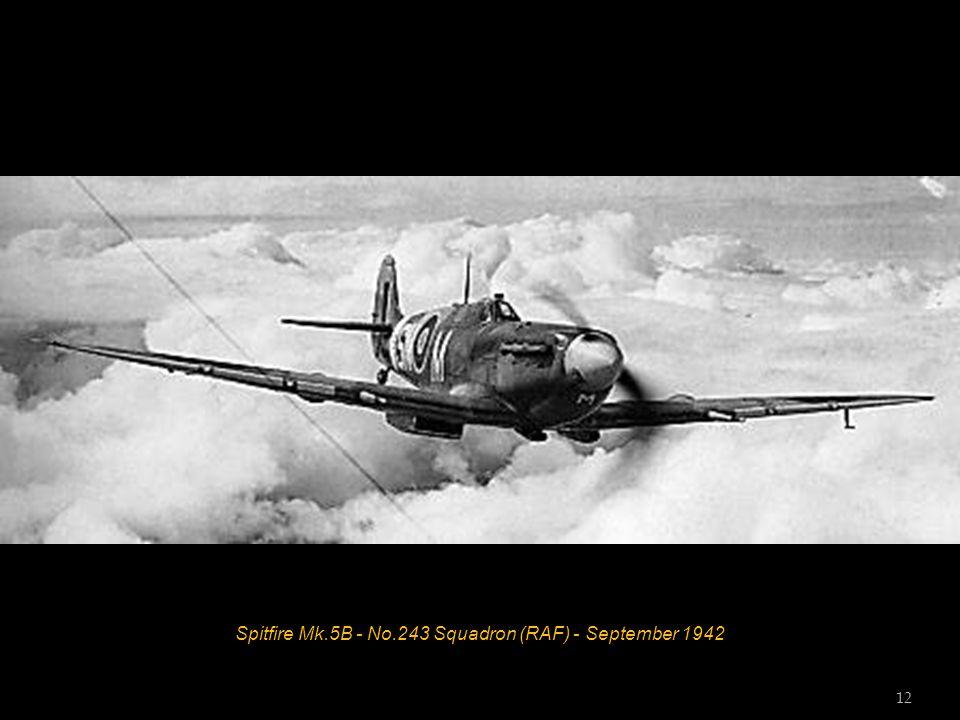 Spitfire Mk.1 - No.19 Squadron (RAF) - RAF Fowlmere - September 1940 11