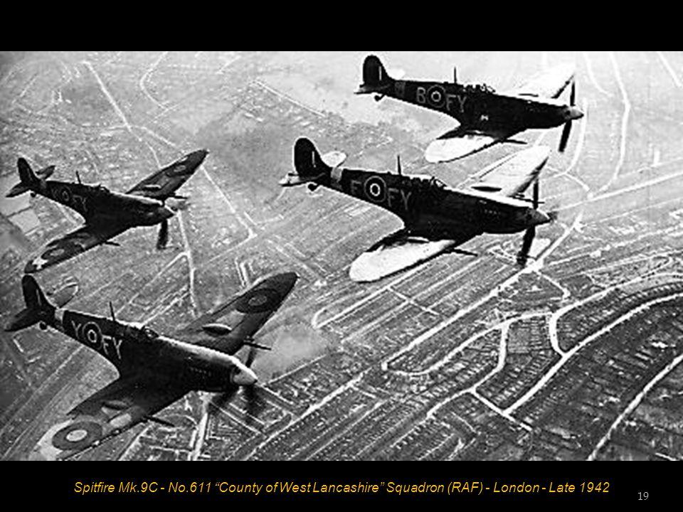 Spitfire Mk.5B - No.222 Squadron (RAF) - RAF Southend - July 1941 Sergeant J P Wilson 18