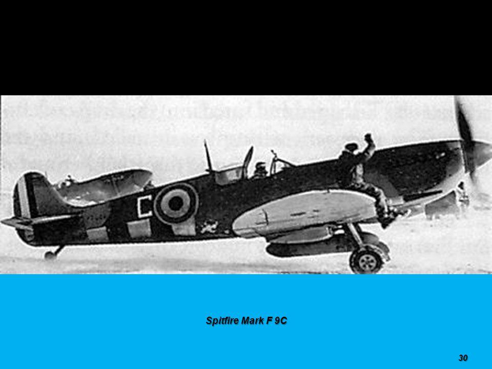 Spitfire Mark F 8 29