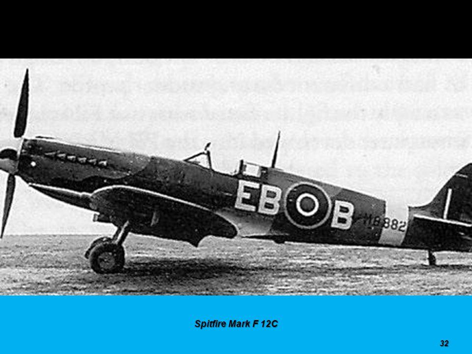 Spitfire Mark PR 11 31