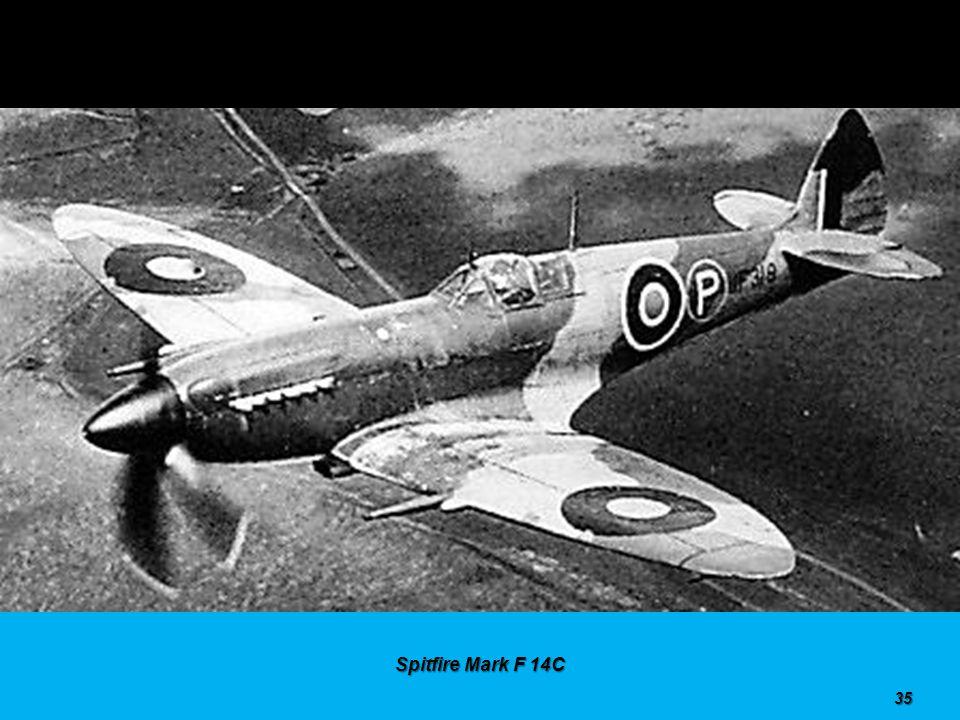 Spitfire Mark PR 10 34