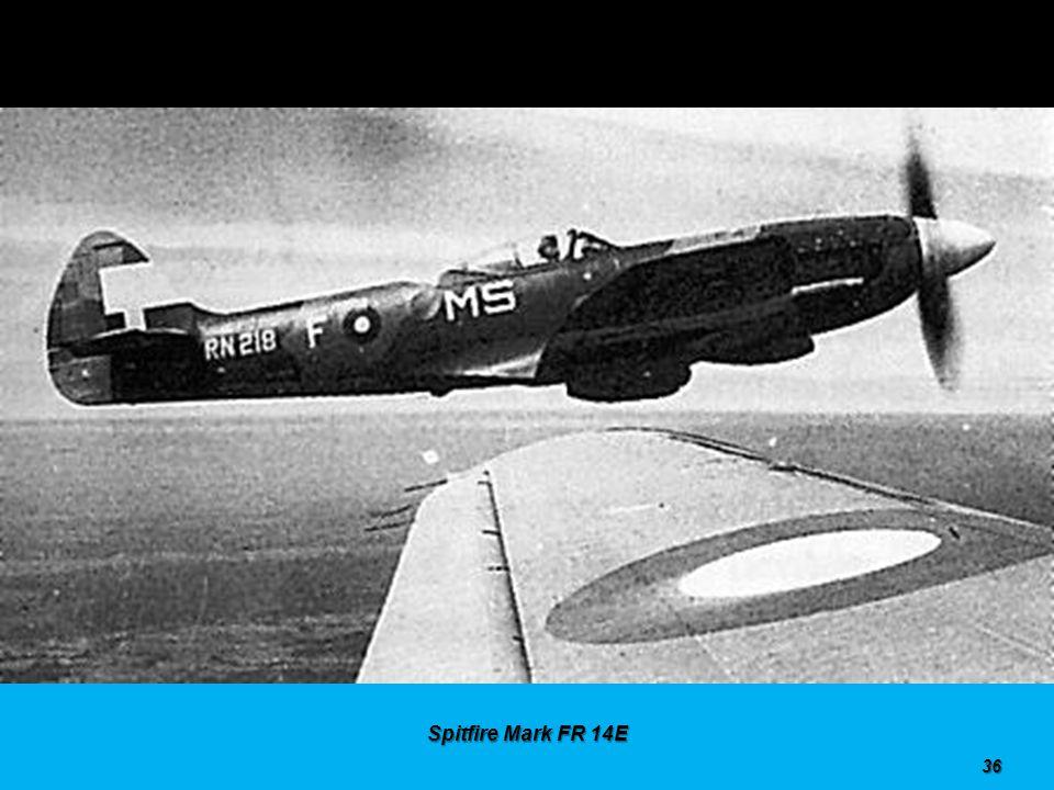 Spitfire Mark F 14C 35