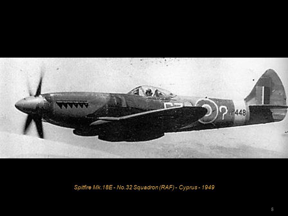 Spitfire Mk.16E - Central Gunnery School (RAF) - 1945 7