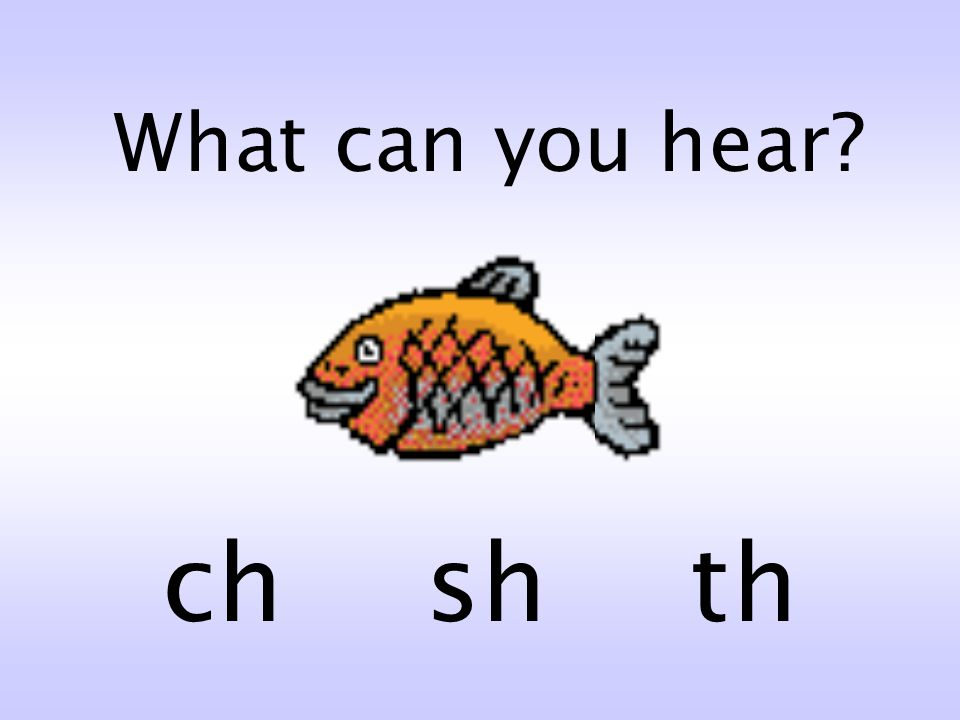 What can you hear ch