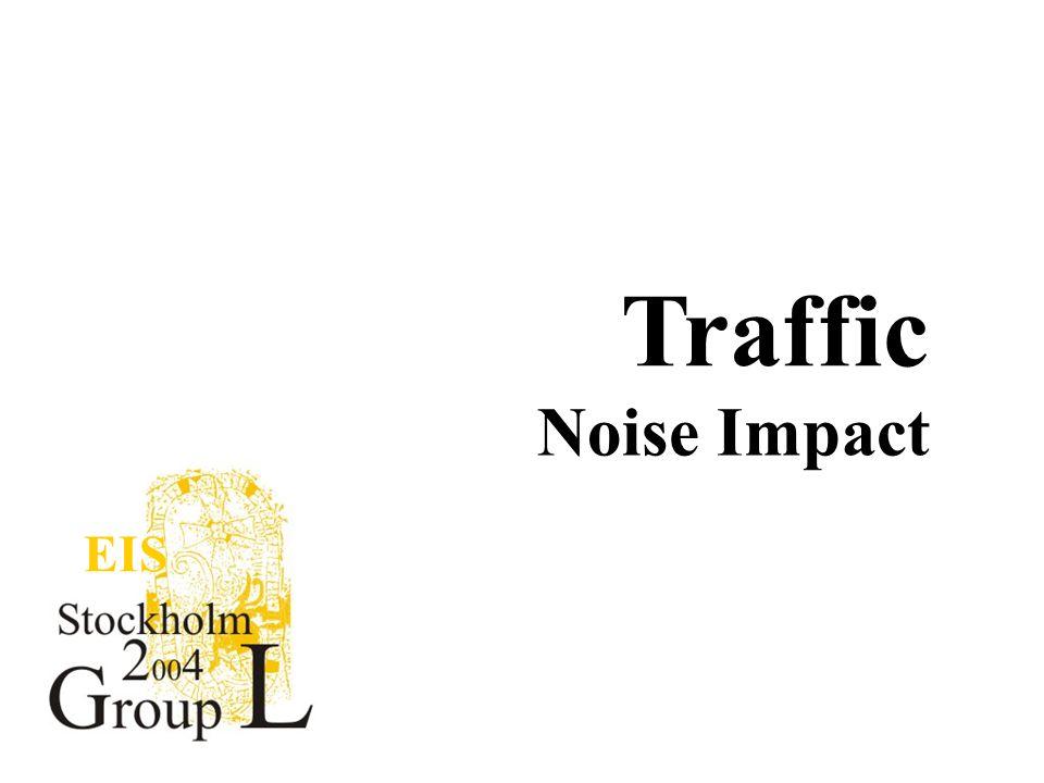 EIS Traffic Noise Impact