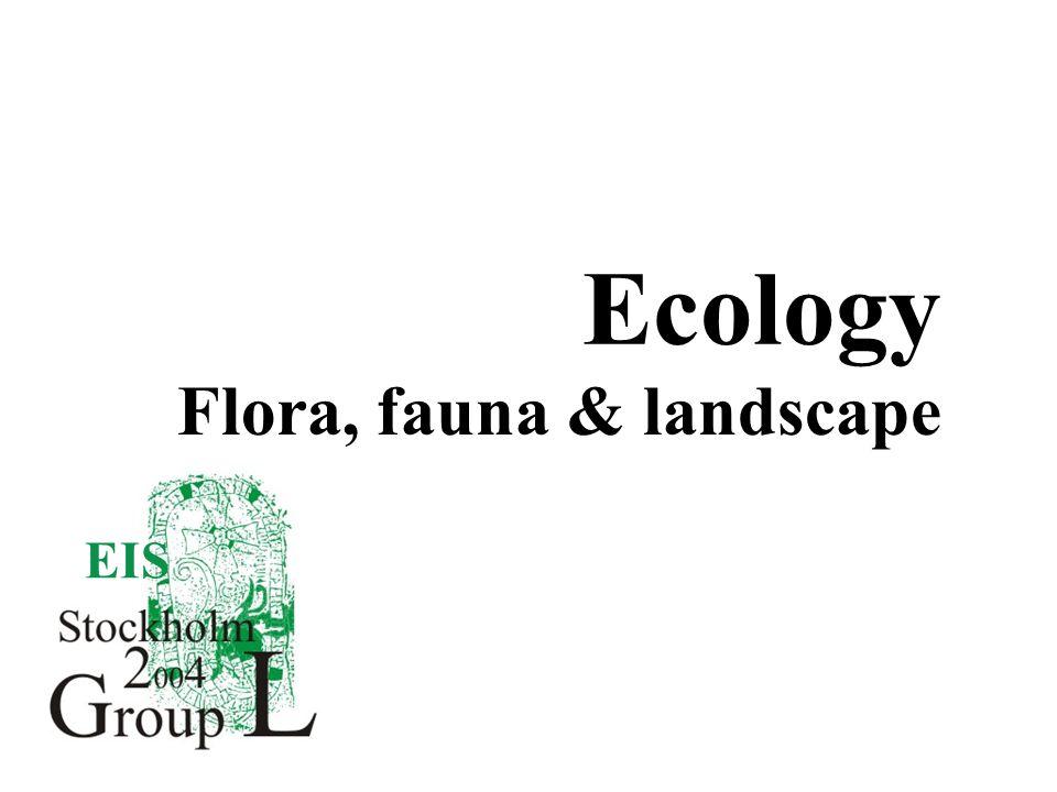 EIS Ecology Flora, fauna & landscape