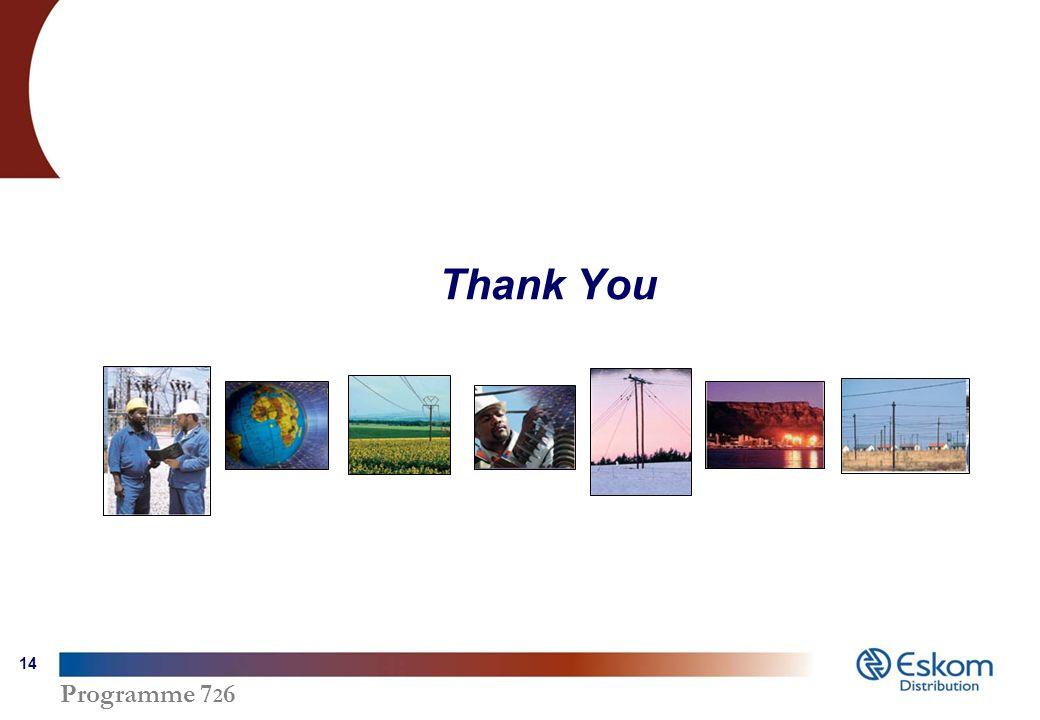 Programme 7 2 6 14 Thank You