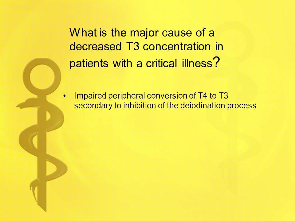 What factors decrease TSH secretion.