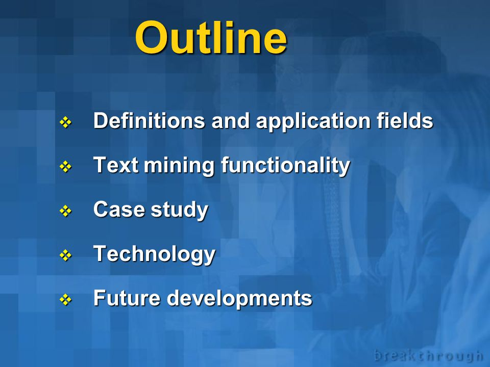 Applications and technologies Sergei Ananyan Megaputer Intelligence, Inc. www.megaputer.com Text Mining © 2001 Megaputer intelligence, Inc.