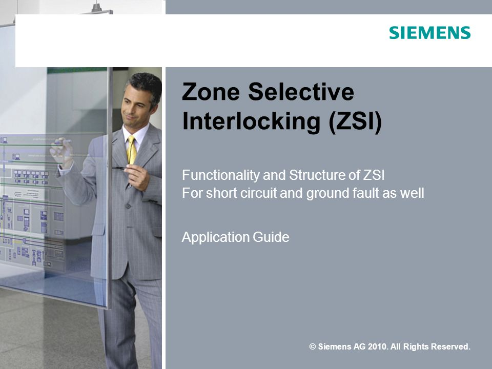 © Siemens AG 2010.All Rights Reserved.
