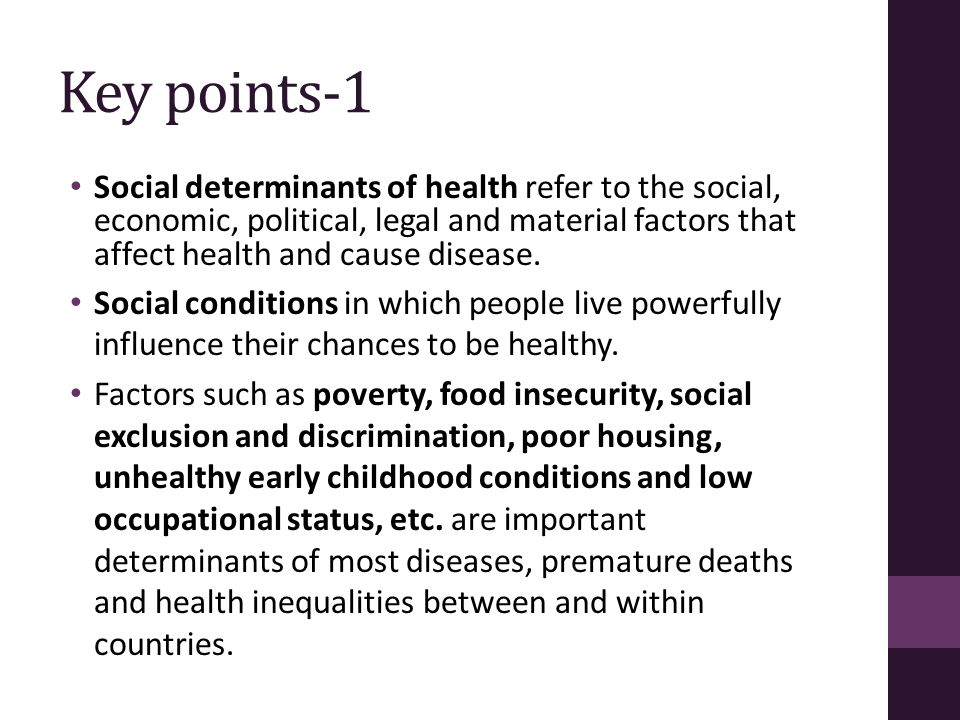 Some examples-2 Poor mothers are more likely to have less prenatal care than non-poor mothers.