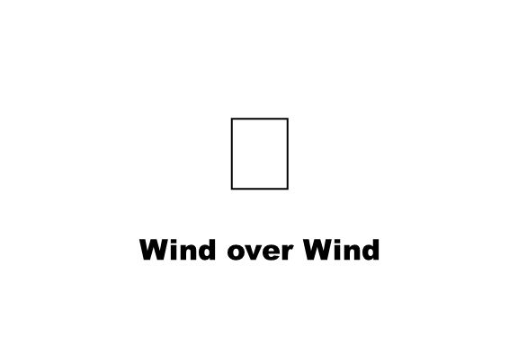 Wind over Wind