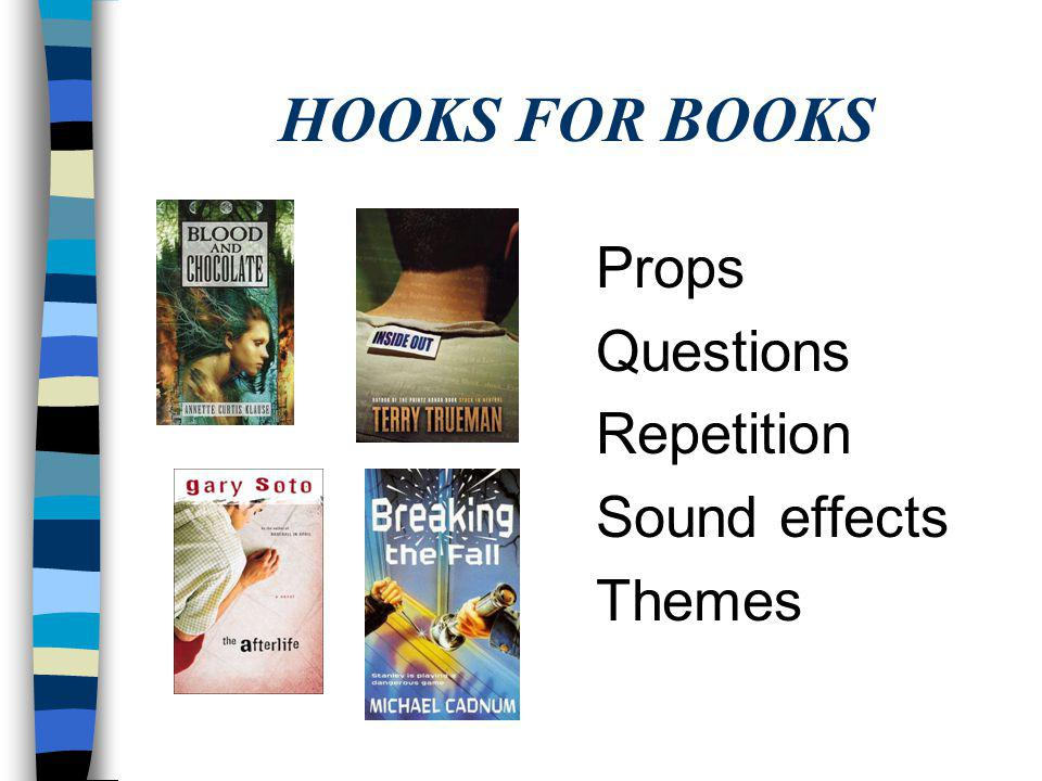 HOOKS FOR BOOKS Know a secret Link Mystery Next line O. Henry