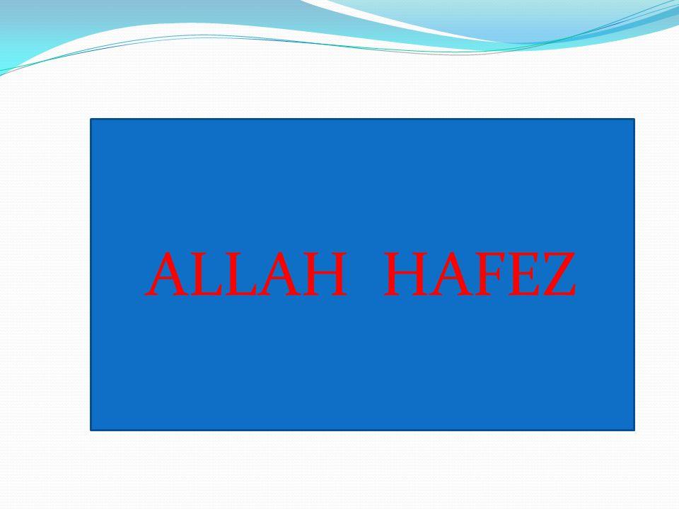 ALLAH HAFEZ