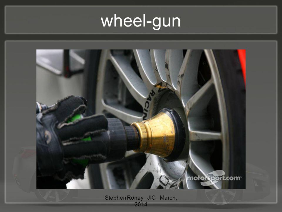 wheel-gun Stephen Roney JIC March, 2014