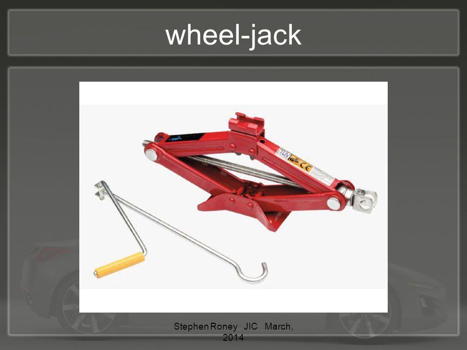 wheel-jack Stephen Roney JIC March, 2014