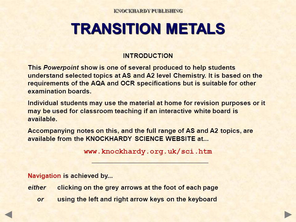 4s 3 3p 3d 4 4p 4d 4f ELECTRONIC CONFIGURATIONS OF THE FIRST ROW TRANSITION METALS MANGANESE 1s 2 2s 2 2p 6 3s 2 3p 6 4s 2 3d 5 The new electron goes into the 4s to restore its filled state.