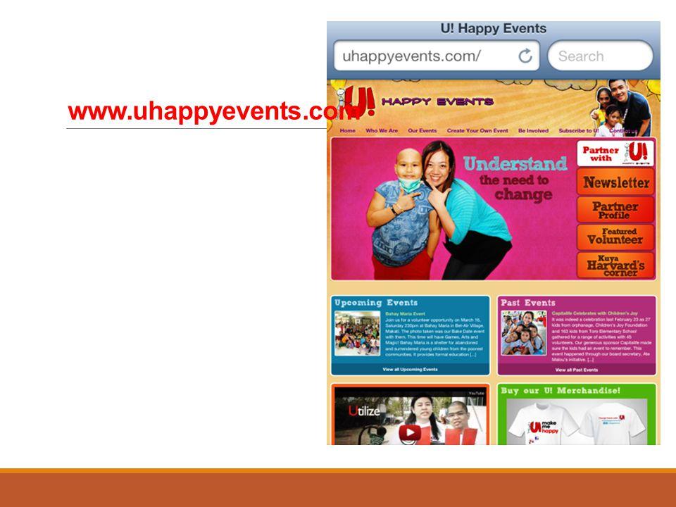 www.uhappyevents.com