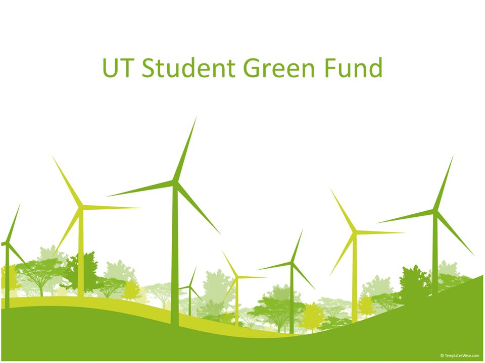UT Student Green Fund