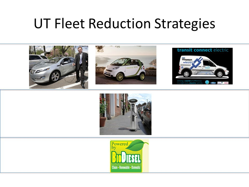 UT Fleet Reduction Strategies