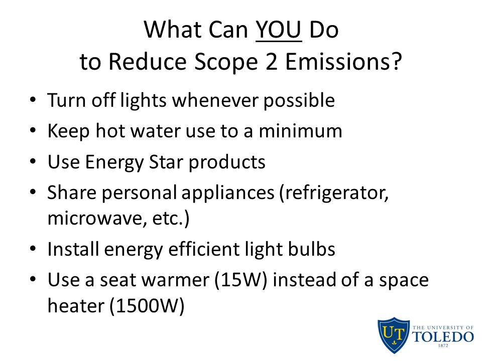 What Can YOU Do to Reduce Scope 2 Emissions.