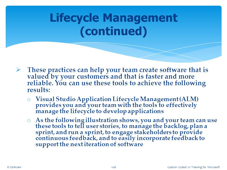  These practices can help your team create software that is valued by your customers and that is faster and more reliable. You can use these tools to