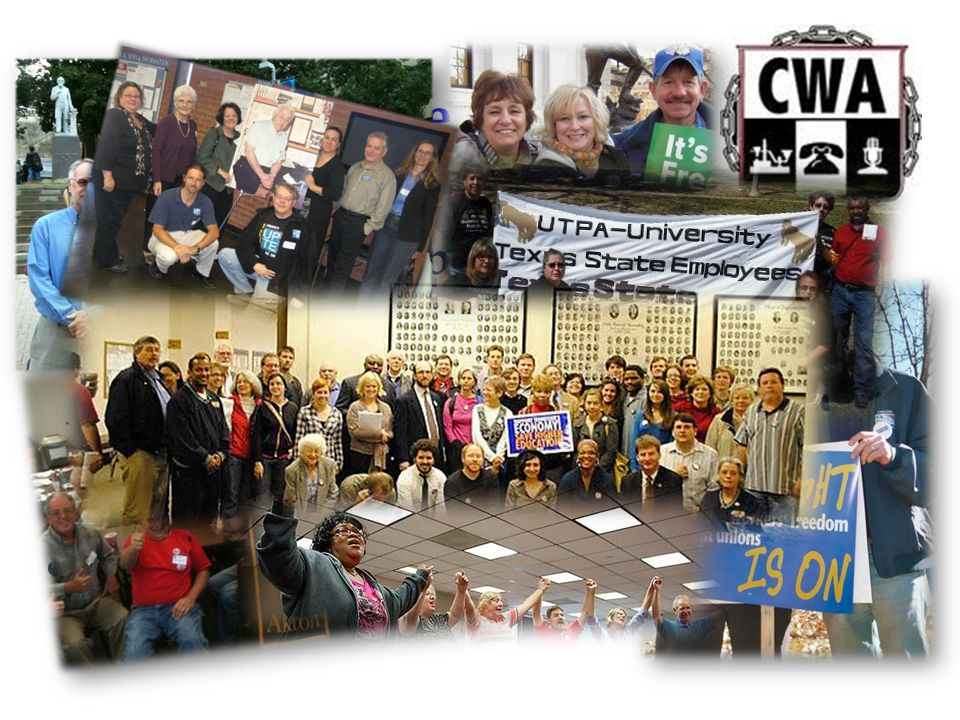 Why we choose CWA: Already on campus - combined we would become the largest bargaining unit on campus. Union for higher-ed staff in Ohio and nationall