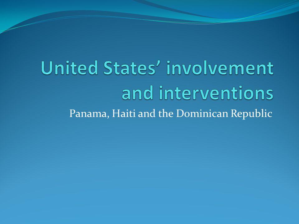 Panama, Haiti and the Dominican Republic