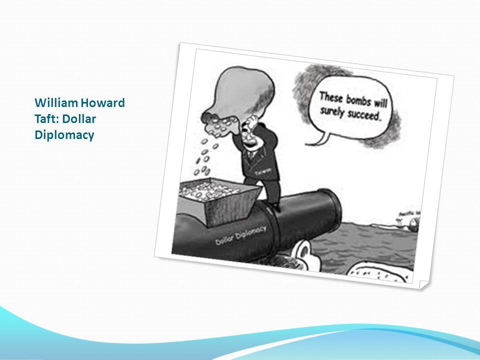 William Howard Taft: Dollar Diplomacy