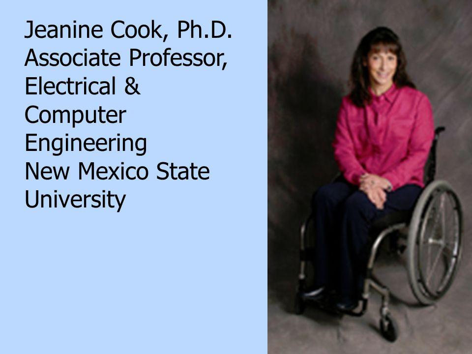 23 Jeanine Cook, Ph.D.