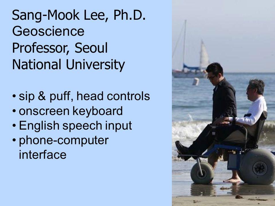 24 Sang-Mook Lee, Ph.D.