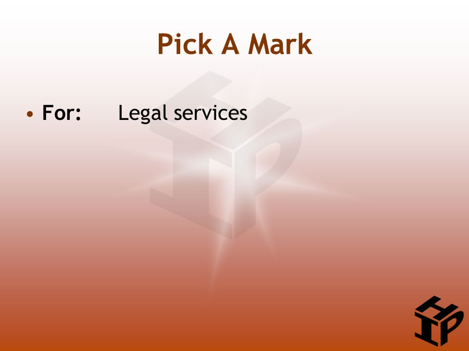 For: Legal services