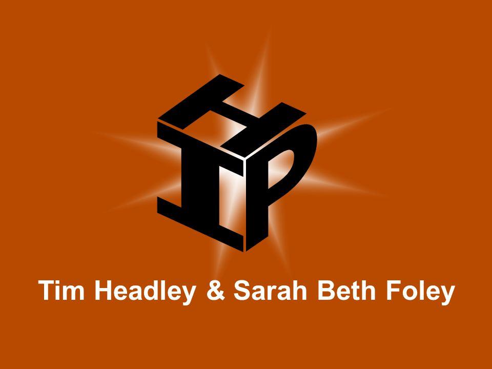 Tim Headley & Sarah Beth Foley