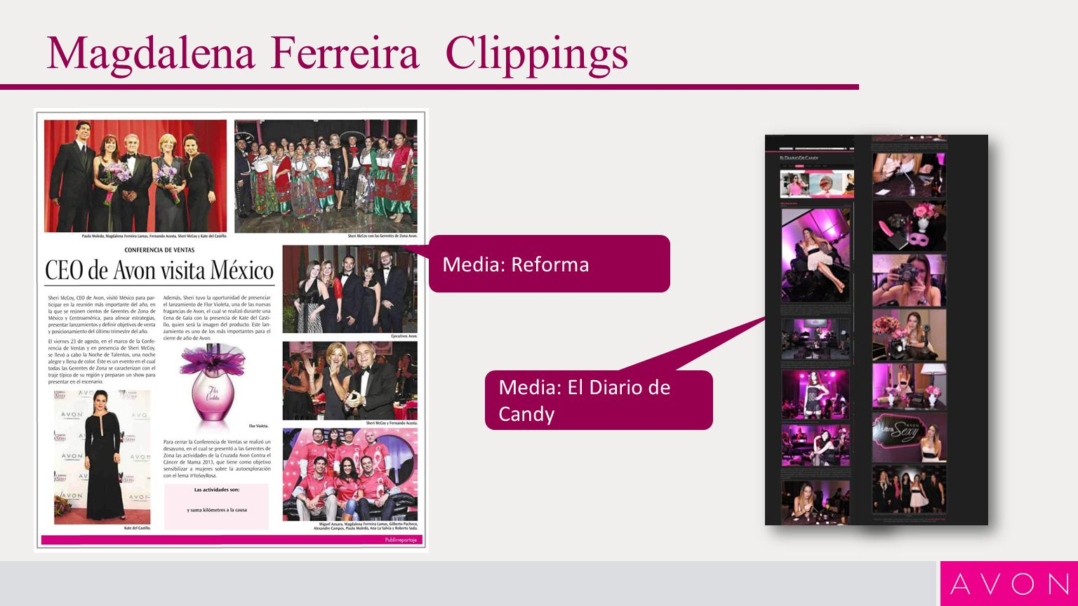 Magdalena Ferreira Clippings Media: Caras