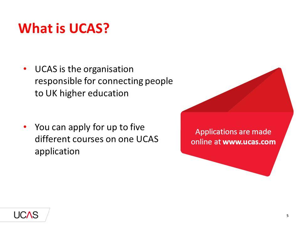 What is UCAS.